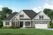 Ranch Style House Plan - 4 Beds 3 Baths 1975 Sq/Ft Plan #929-881 Exterior - Front Elevation