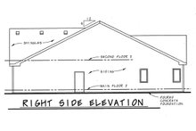 Home Plan - Traditional Exterior - Outdoor Living Plan #20-123