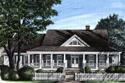 Southern Style House Plan - 3 Beds 2 Baths 2268 Sq/Ft Plan #137-245 Exterior - Front Elevation