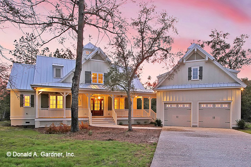 Country style house plan 2 beds 3 baths 2021 sq ft plan for House plans no garage
