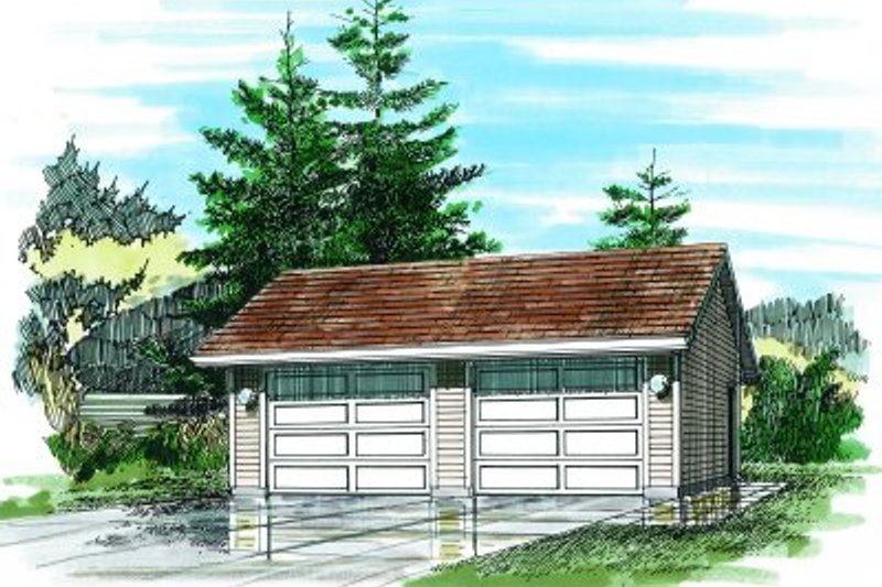 Traditional Exterior - Front Elevation Plan #47-507