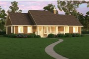 Ranch Style House Plan - 3 Beds 2 Baths 1820 Sq/Ft Plan #18-4512 Photo
