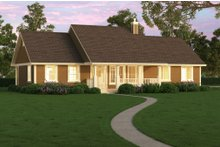 Dream House Plan - Ranch Photo Plan #18-4512