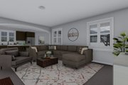 Craftsman Style House Plan - 4 Beds 2.5 Baths 2399 Sq/Ft Plan #1060-52 Interior - Family Room