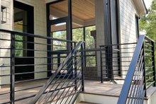 Home Plan - Modern Exterior - Outdoor Living Plan #437-108