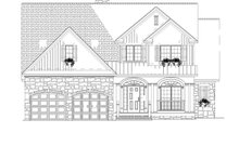 House Plan Design - Traditional Exterior - Front Elevation Plan #17-2779