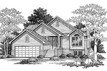House Plan Design - Traditional Exterior - Front Elevation Plan #70-108