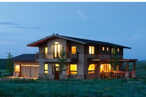 Architectural House Design - Contemporary Exterior - Front Elevation Plan #1042-16