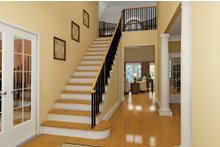 House Plan Design - Country Interior - Entry Plan #929-18