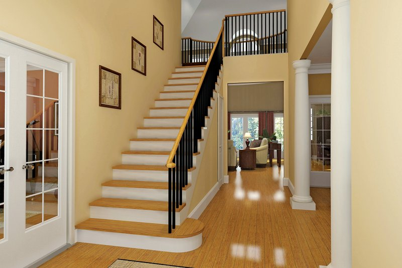 Country Interior - Entry Plan #929-18 - Houseplans.com