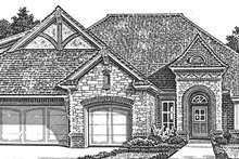 Home Plan - Country Exterior - Front Elevation Plan #310-1272