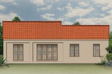 Home Plan - Mediterranean Exterior - Rear Elevation Plan #1058-5