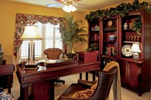 Architectural House Design - Bonus Room as Home Office