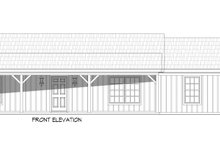 Dream House Plan - Cottage Exterior - Front Elevation Plan #932-328