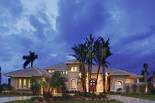 Home Plan - Mediterranean Exterior - Front Elevation Plan #930-329