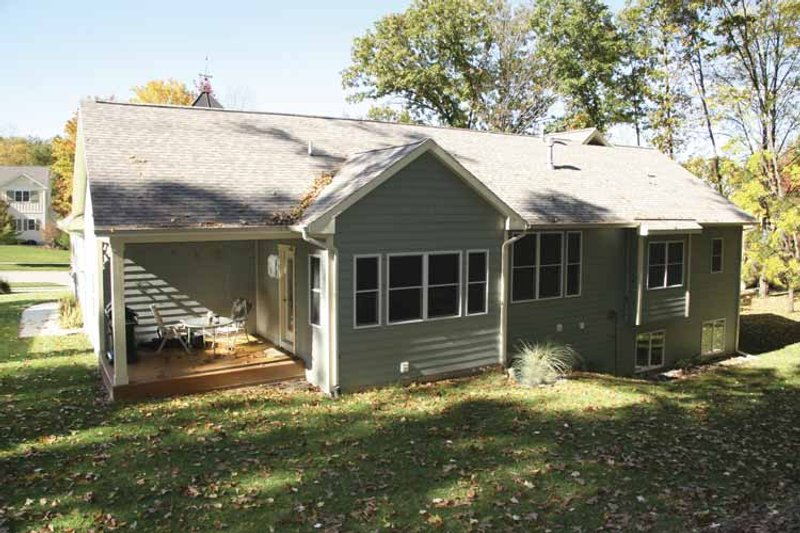 Craftsman Exterior - Rear Elevation Plan #928-145 - Houseplans.com