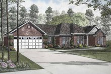 Home Plan - Ranch Exterior - Front Elevation Plan #17-2836
