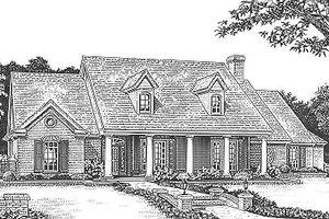Craftsman Exterior - Front Elevation Plan #310-955