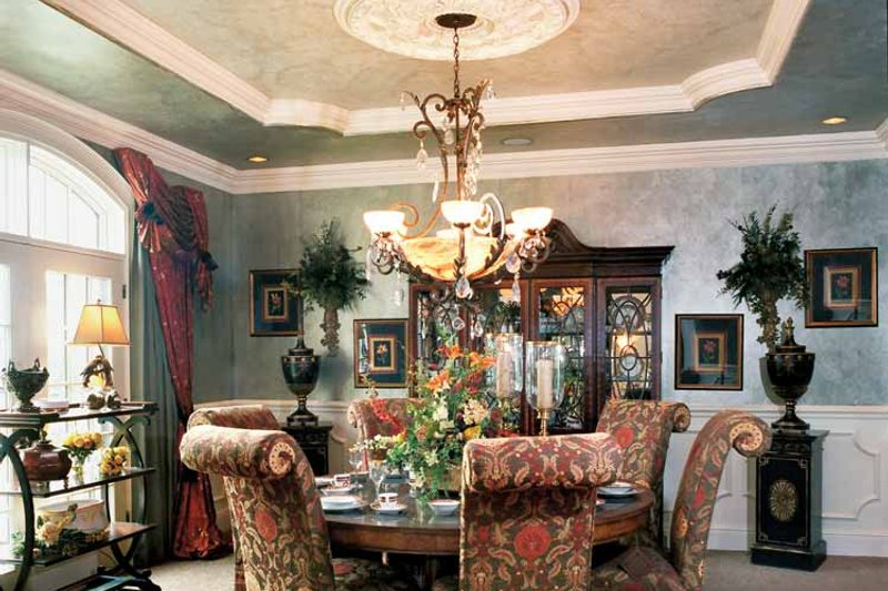 European Interior - Dining Room Plan #46-774 - Houseplans.com