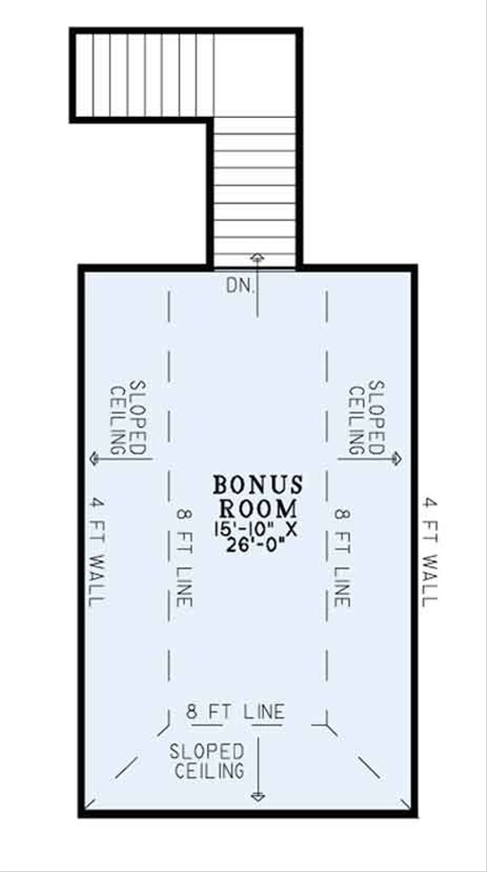 European Floor Plan - Other Floor Plan Plan #17-3386