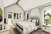 Country Style House Plan - 3 Beds 2 Baths 1936 Sq/Ft Plan #406-9659 Interior - Master Bedroom