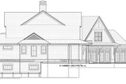 Country Style House Plan - 4 Beds 3.5 Baths 3829 Sq/Ft Plan #928-294 Exterior - Other Elevation