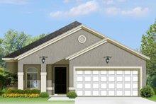 House Plan Design - Mediterranean Exterior - Front Elevation Plan #1058-90