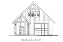 Traditional Exterior - Other Elevation Plan #117-551