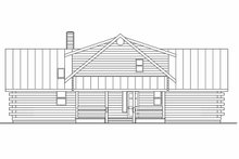 Architectural House Design - Contemporary Exterior - Other Elevation Plan #124-264