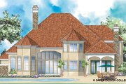 Mediterranean Style House Plan - 4 Beds 4.5 Baths 4011 Sq/Ft Plan #930-266
