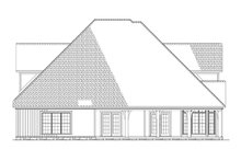 Architectural House Design - Country Exterior - Rear Elevation Plan #17-2677