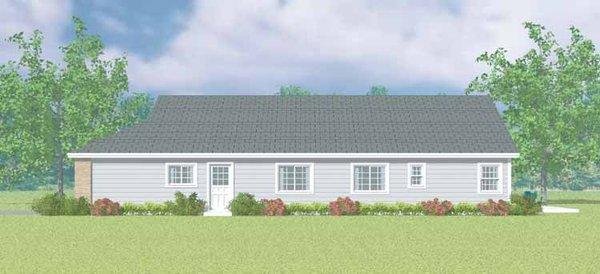 Craftsman Floor Plan - Other Floor Plan Plan #72-1098