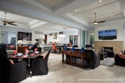 Mediterranean Style House Plan - 3 Beds 4.5 Baths 3394 Sq/Ft Plan #930-457 Interior - Other