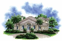 Home Plan - Country Exterior - Front Elevation Plan #1017-149