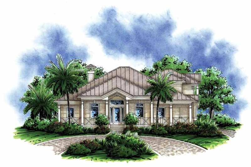 Dream House Plan - Country Exterior - Front Elevation Plan #1017-149