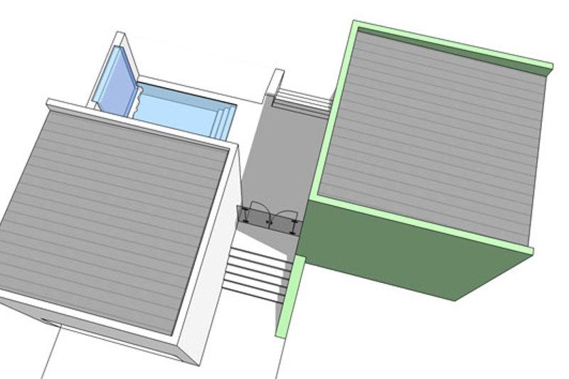Contemporary Exterior - Other Elevation Plan #64-313 - Houseplans.com