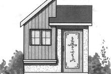 Cottage Exterior - Front Elevation Plan #23-467