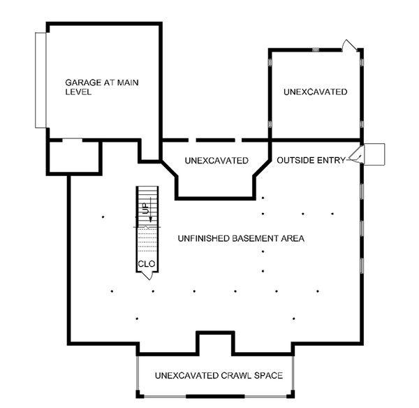 Country Floor Plan - Other Floor Plan Plan #45-353