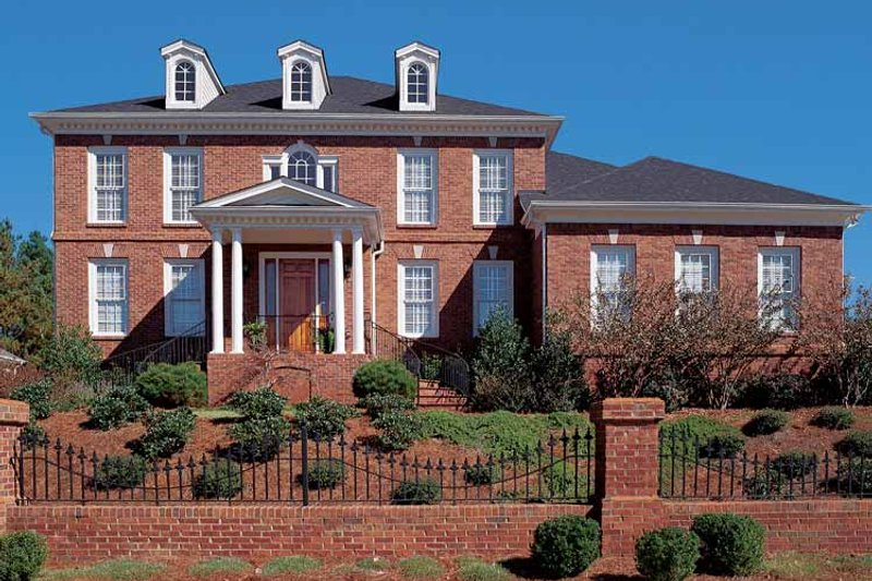 Home Plan - Classical Exterior - Front Elevation Plan #54-189