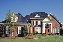 Home Plan - Traditional Exterior - Front Elevation Plan #453-144