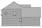 Traditional Style House Plan - 4 Beds 3.5 Baths 2482 Sq/Ft Plan #46-869 Exterior - Other Elevation