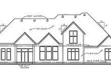 Traditional Exterior - Rear Elevation Plan #20-1707