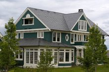 Architectural House Design - Colonial Exterior - Other Elevation Plan #48-151