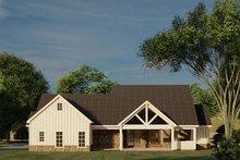 Dream House Plan - Farmhouse Exterior - Rear Elevation Plan #923-183