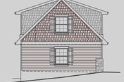 Craftsman Style House Plan - 1 Beds 1 Baths 727 Sq/Ft Plan #487-4 Exterior - Other Elevation