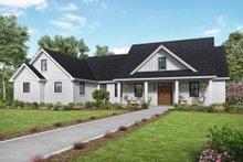 Dream House Plan - Farmhouse Exterior - Front Elevation Plan #48-980
