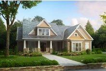 Craftsman Exterior - Front Elevation Plan #927-4
