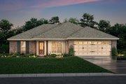 European Style House Plan - 3 Beds 2 Baths 1300 Sq/Ft Plan #430-58