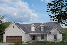 House Plan Design - Traditional Exterior - Front Elevation Plan #923-177