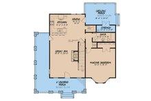 Craftsman Floor Plan - Main Floor Plan Plan #923-141